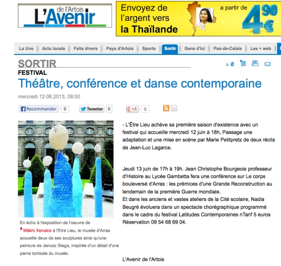 L'avenir de l'Artois-12 juin 2013